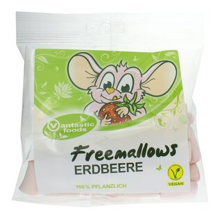 Vantastic Foods Freemallows Erdbeere - 75g