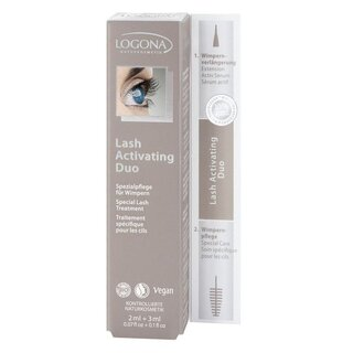 Logona Lash Activating Duo 5ml
