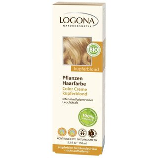 Logona Color Creme kupferblond - 150ml